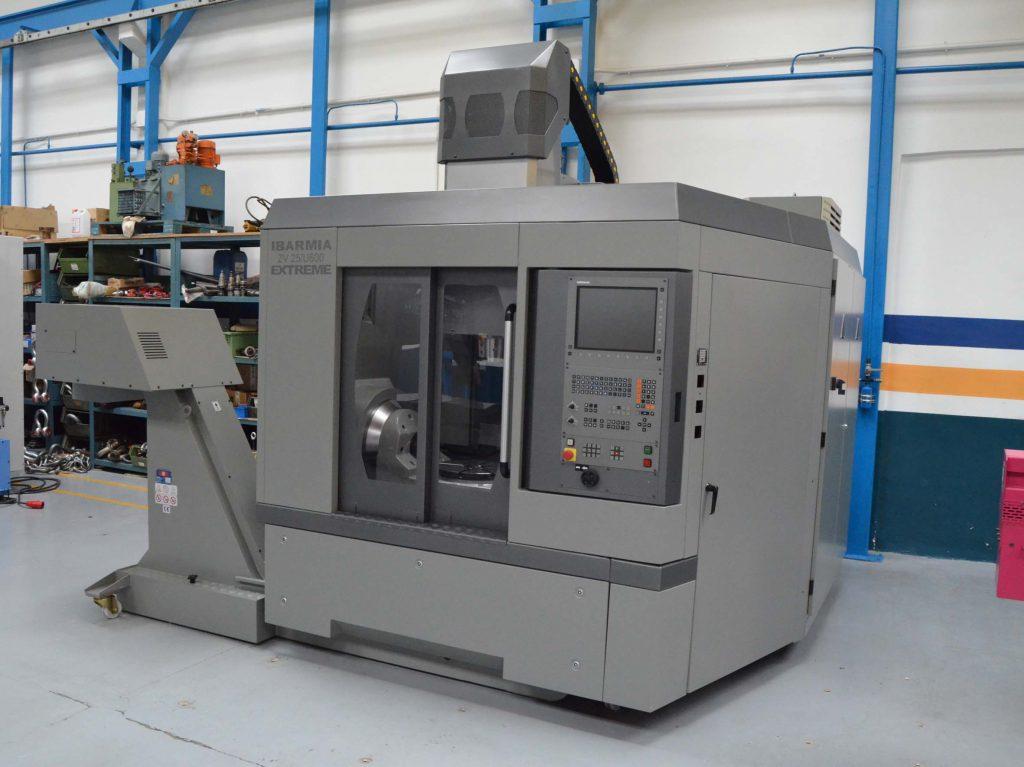Centro de Mecanizado Vertical Ibarmia 5 Ejes ZV 25 U600