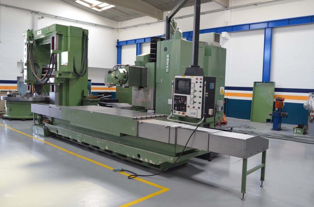Second Hand Bed Type Milling Machine Zayer KF-3000