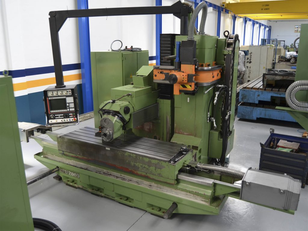 Fresadora BAncada Fija ZAYER ZFU-2000 CNC Fagor