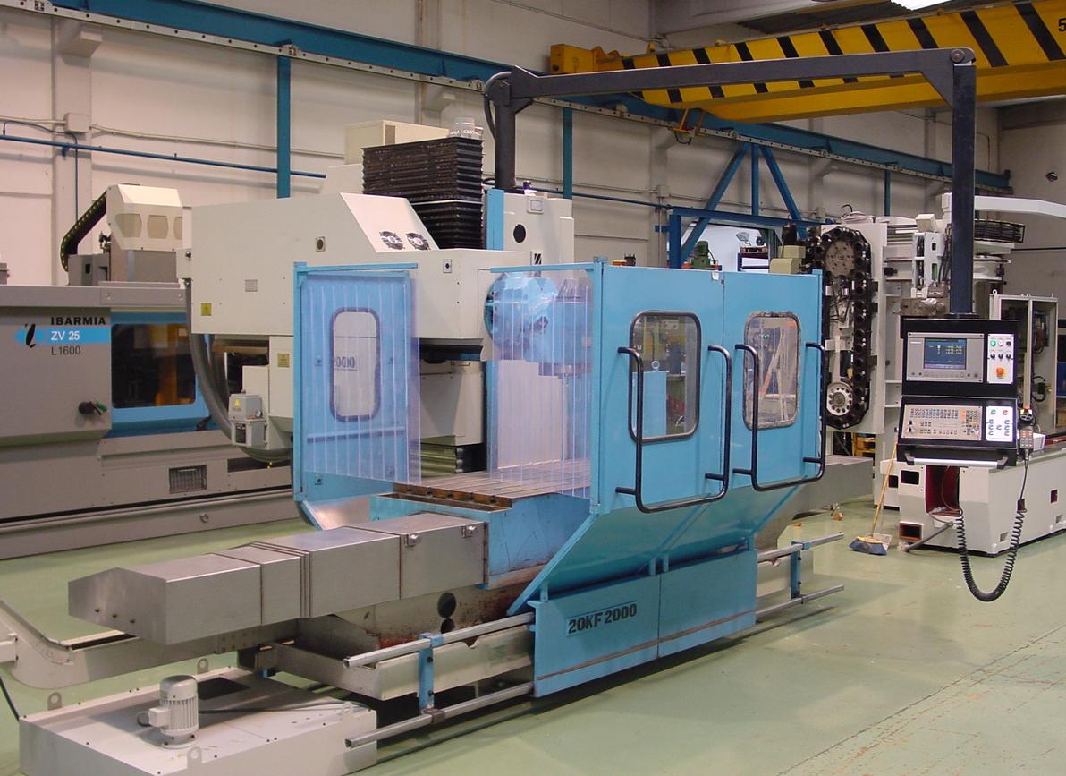 fresadora de bancada fija zayer 20 kf 2000 On maquinaria industrial segunda mano