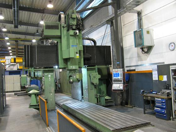Used Zayer KP-5000 Bridge Type Milling Machine