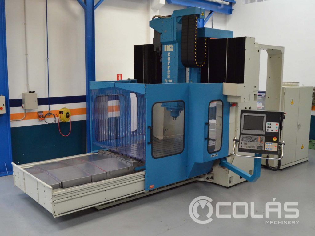Used CORREA FP30-30 Bridge Type Milling Machine