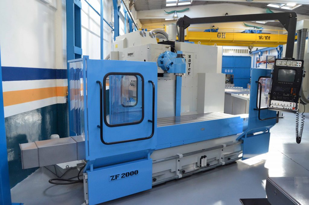 Used Zayer ZF 2000 Bed Type Milling Machine