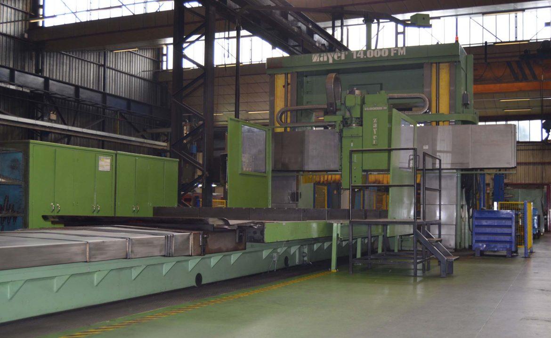 Fresadora Puente CNC ZAYER FMU-14000 de ocasión