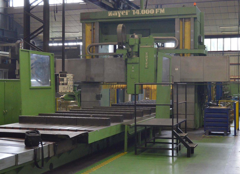 Fresadora Puente ZAYER usada FMU-14000