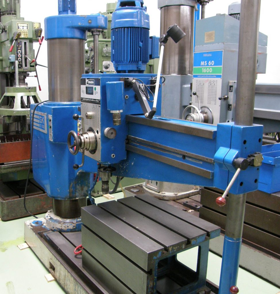 Used FORADIA GK 50 1500 Radial Drill for sale