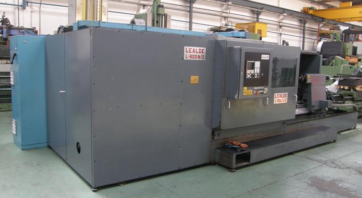 Torno CNC Lealde usado