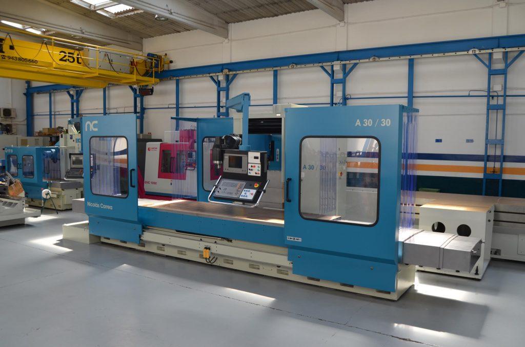 Fresadora CNC usada CORREA A30