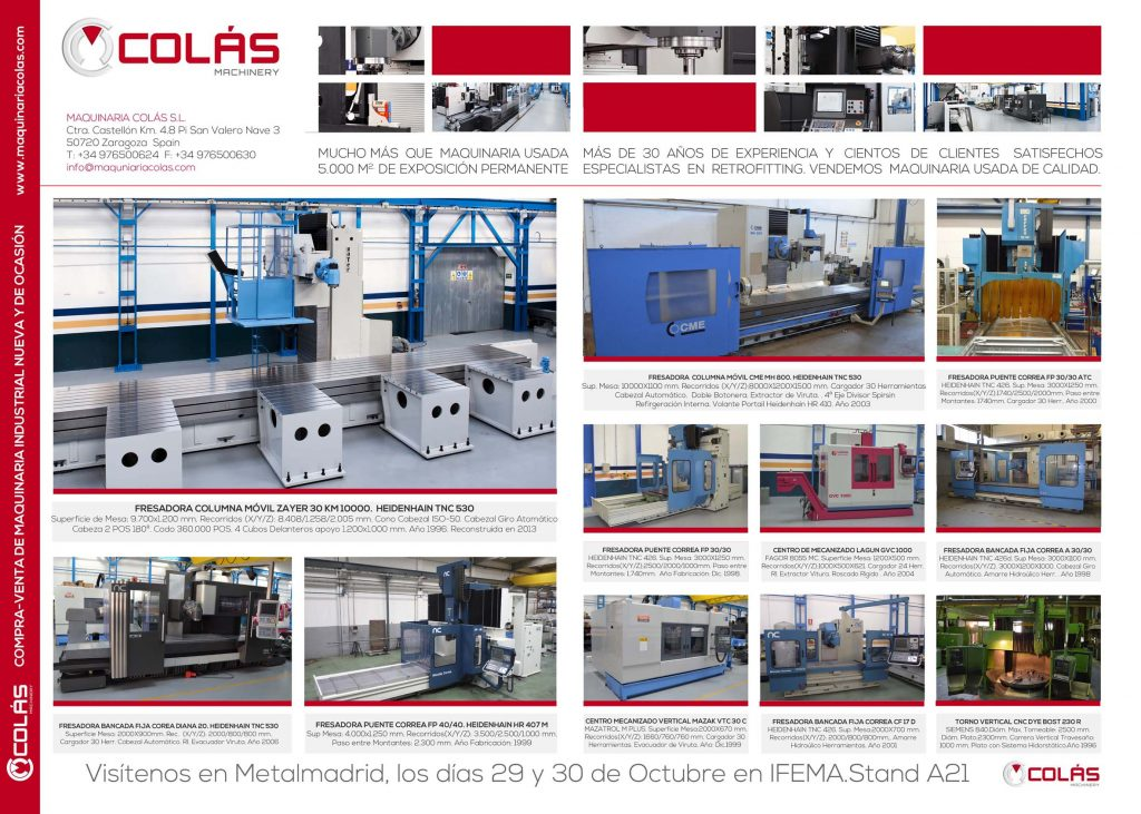Maquinaria Industrial de Ocasion en Interempresas 0914
