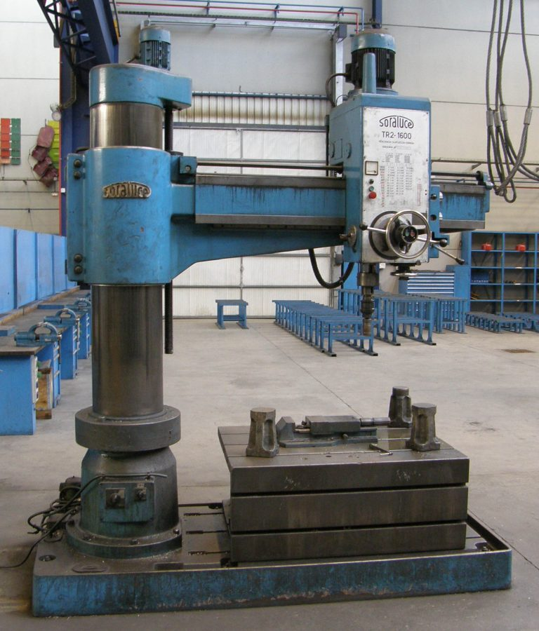 SORALUCE_TR2-1600 radial drill in liquidation sale