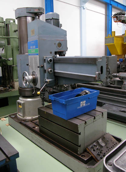 Taladro Radial Foradia MS 60-1600 en liquidación