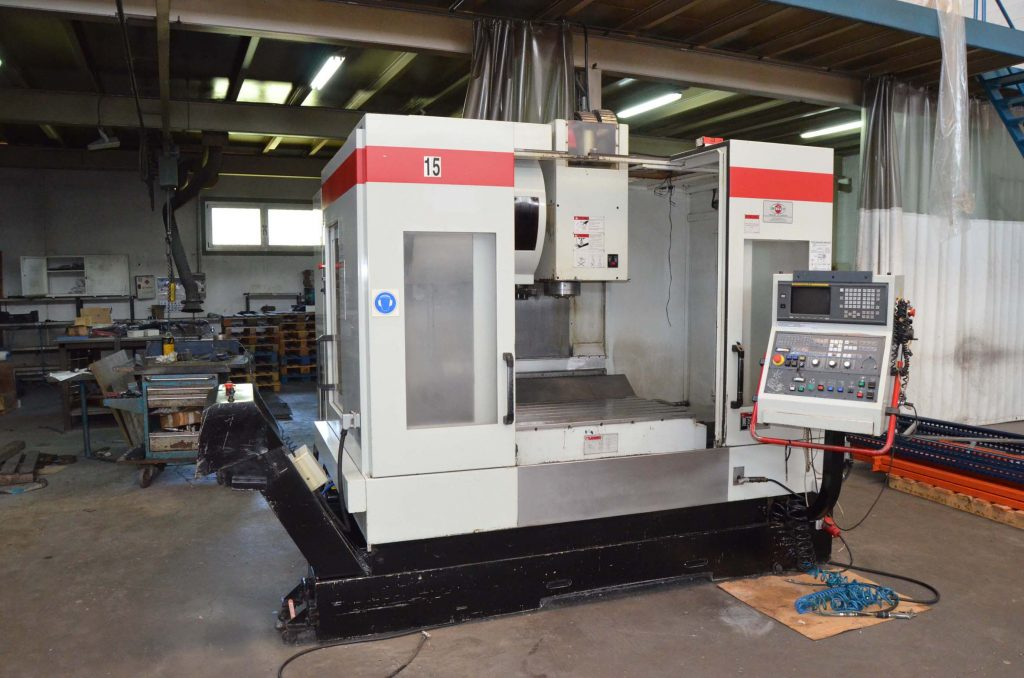 Used Vertical Machining Center Quaser VM204 IIM204 II