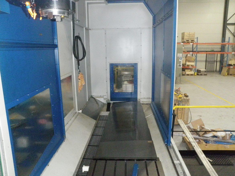 Fresadora MTE BF-4200 usada con carenado integral