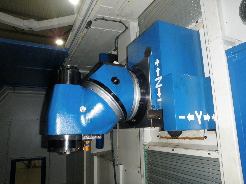 Fresadora MTE BF-4200 de segunda mano con cabezal automático