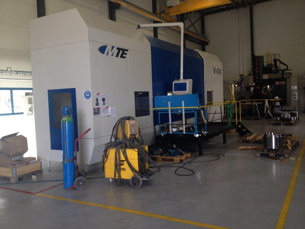 Fresadora MTE MB-4200 de ocasión