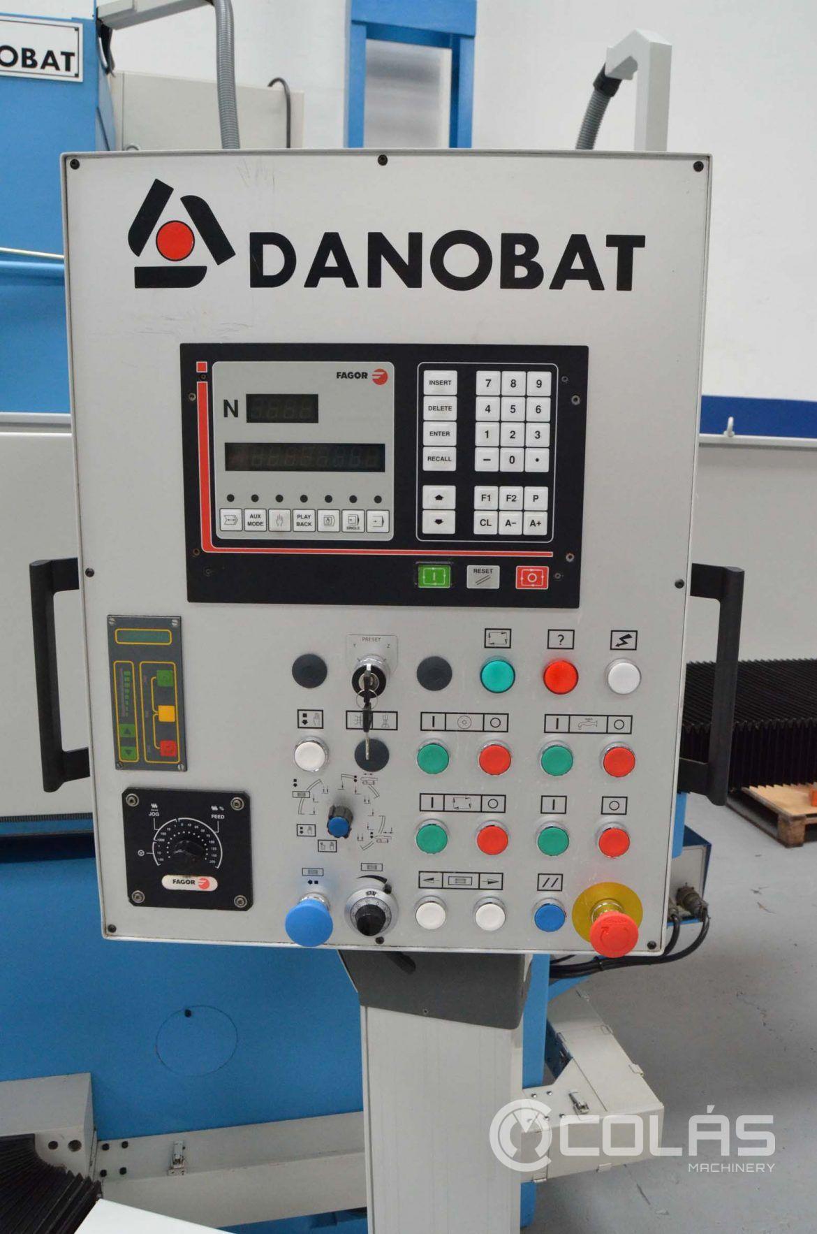 Rectificadora Tangencial CNC Danobat RTL 1600