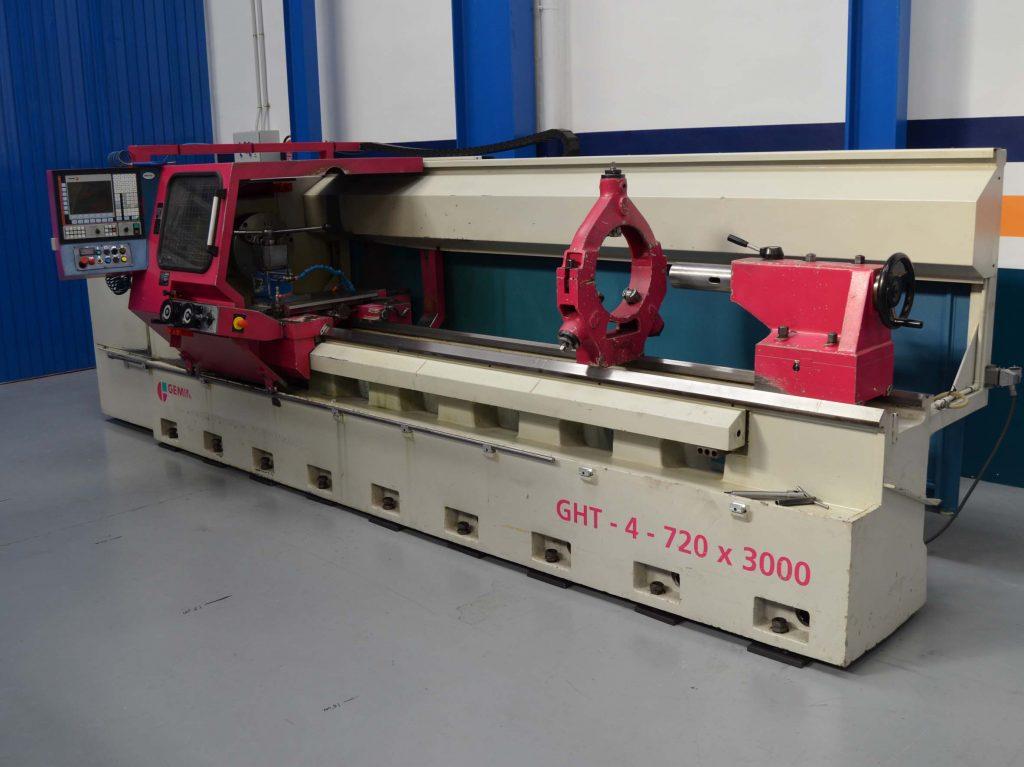TORNO CNC GEMINIS GHT 4 DE OCASION