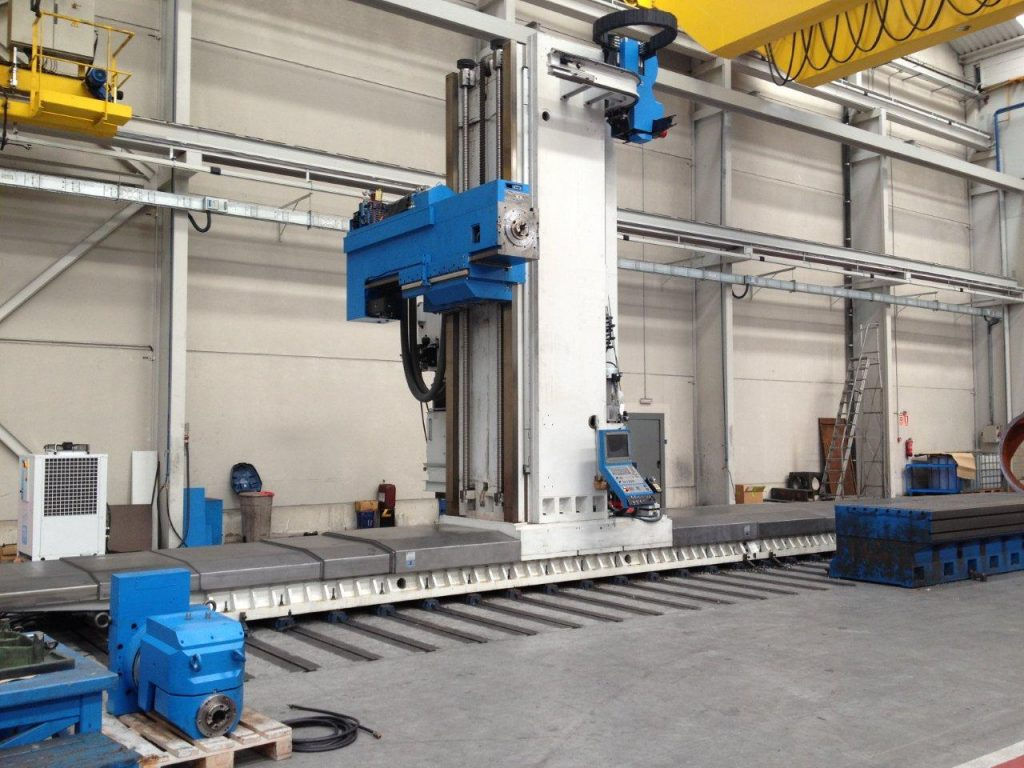 Used CME MQ-12000 travelling column milling machine at Maquinaria Colás