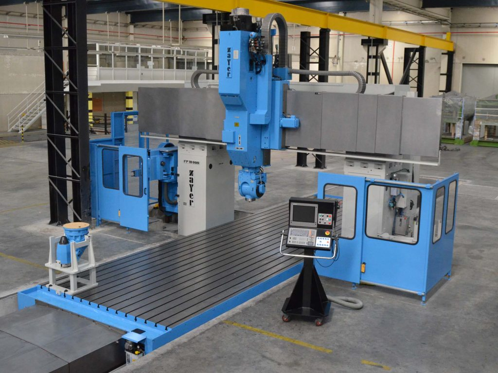Used Zayer FP-10000 double column milling machine