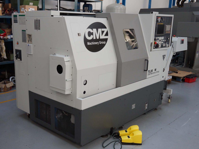 Torno CMZ TL-20M de segunda mano en Maquinaria Colás