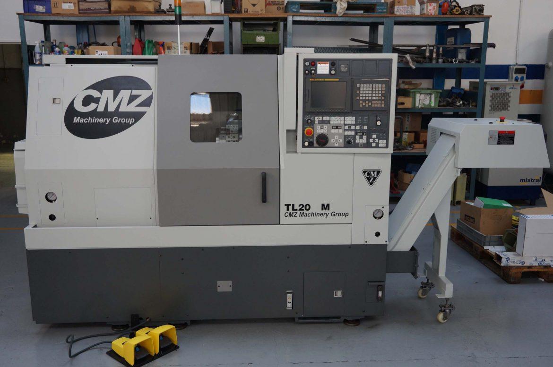 Torno CMZ TL-20M usado Maquinaria Colás