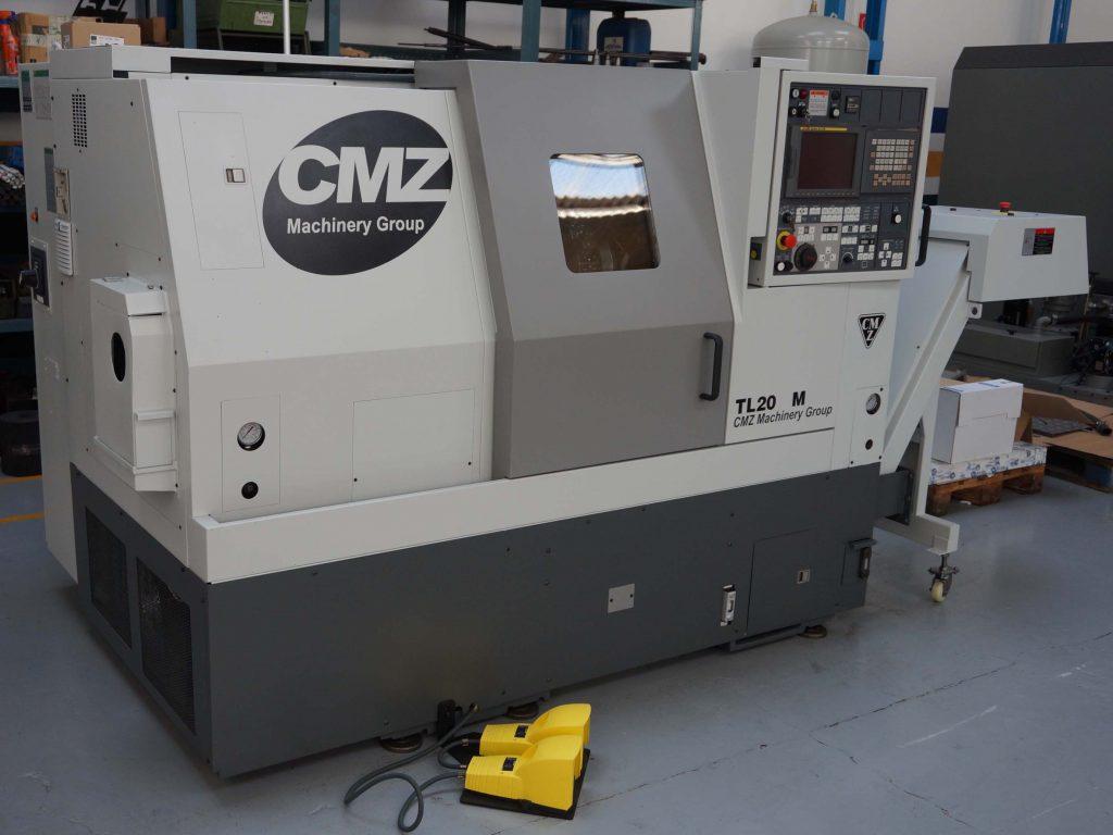 Used CMZ TL20 M CNC Lathe
