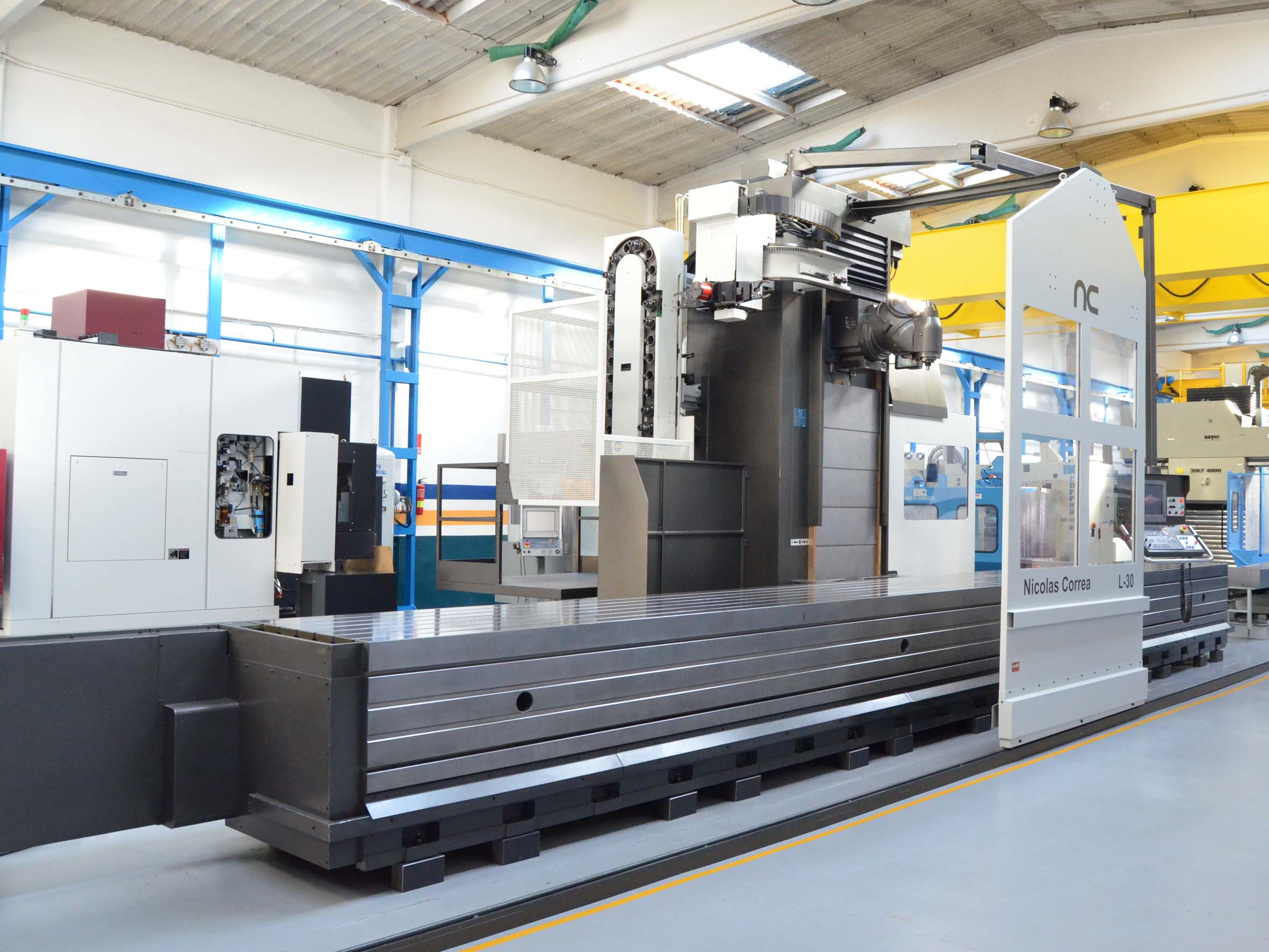 Correa L30 104 Travelling Column Milling Machine