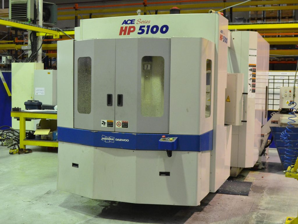 Centro Mecanizado Horizontal Ocasión Doosan Ace HP-5100