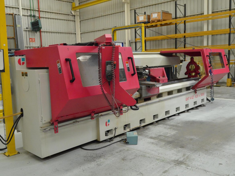 Torno CNC Geminis GTH4 620x3000 usada