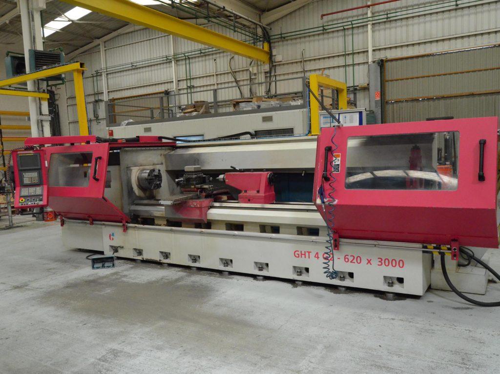 Torno CNC Geminis GTH4 620x3000 ocasion