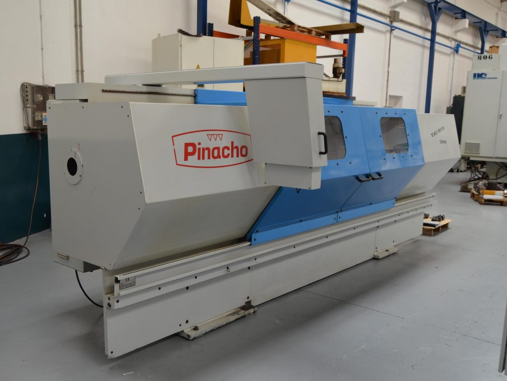 Second Hand Pinacho Taurus 260 CNC Lathe