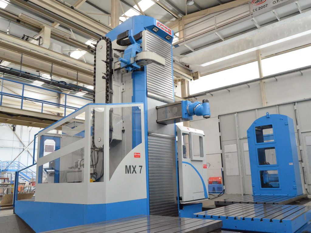 Used Juaristi MX7 Travelling Column Milling Machine