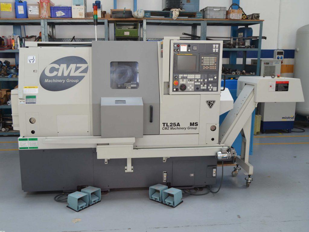 Torno CMZ TL25 AMS de Ocasión
