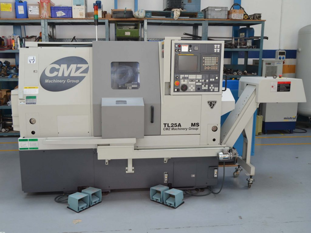 Used CMZ TL25 CNC Lathe
