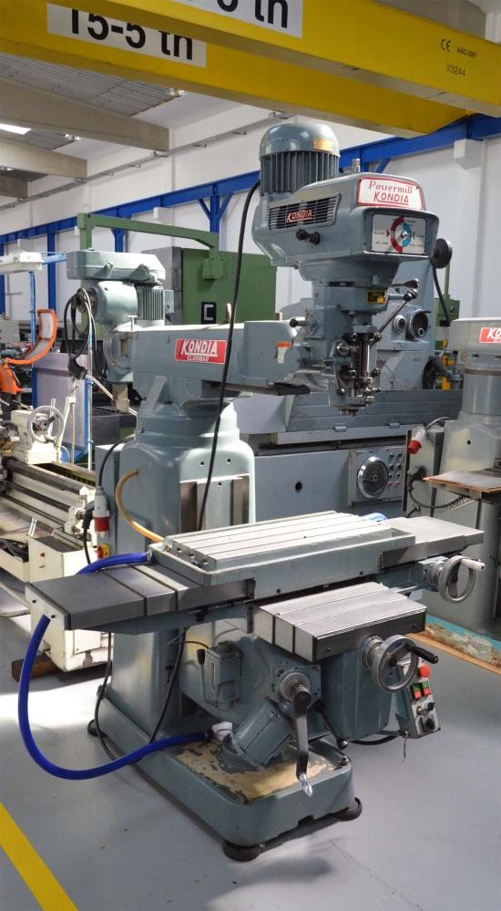 Fresadora Kondia KP-90 en liquidación
