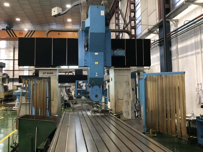 Second Hand Zayer KP-6500 AR Double Column Milling Machine