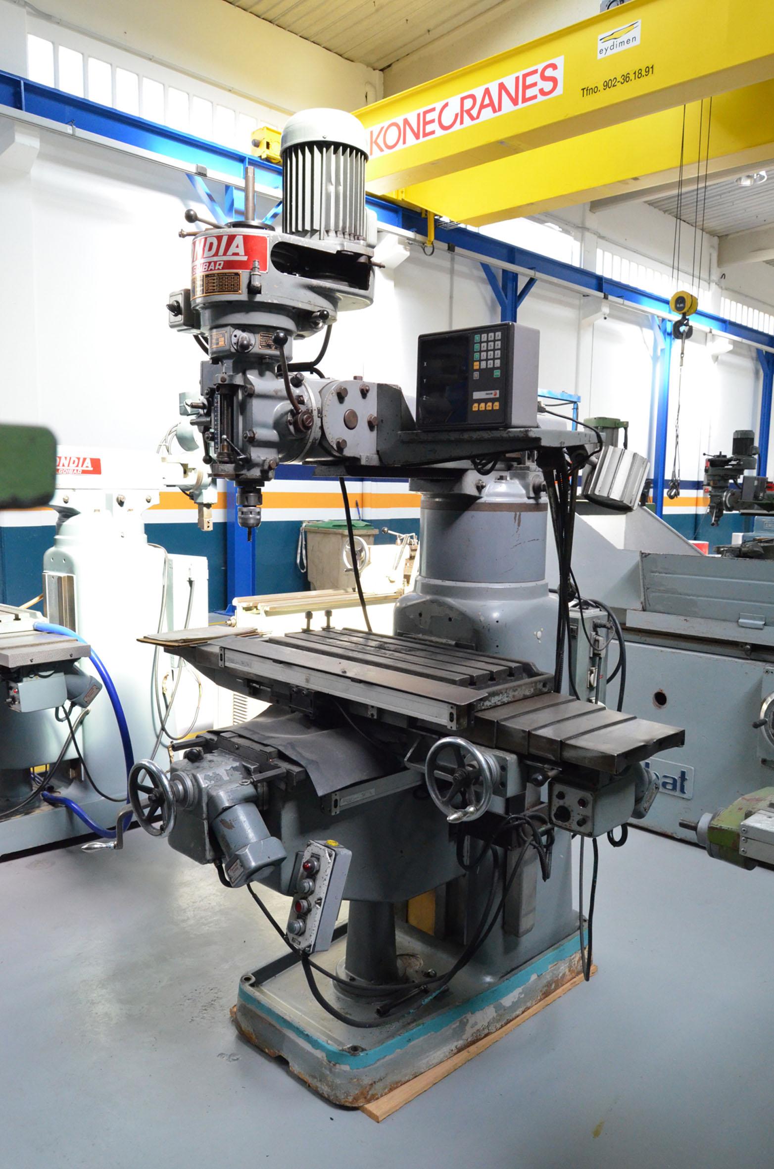 Fresadora Kondia Fv1 De Segunda Mano Maquinaria Col S