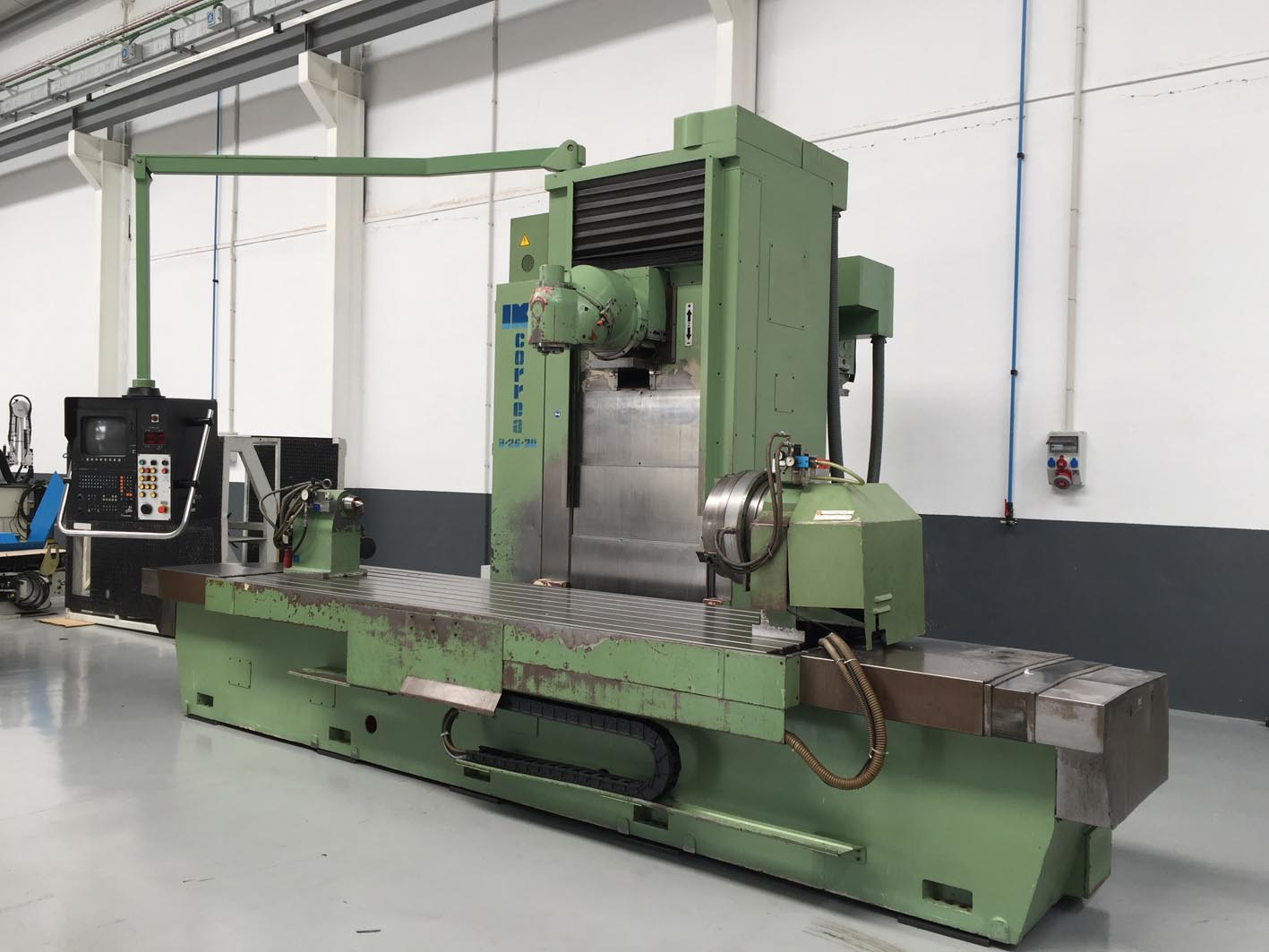 Used Correa A 25 30 Bed Type Milling Machine For Sale