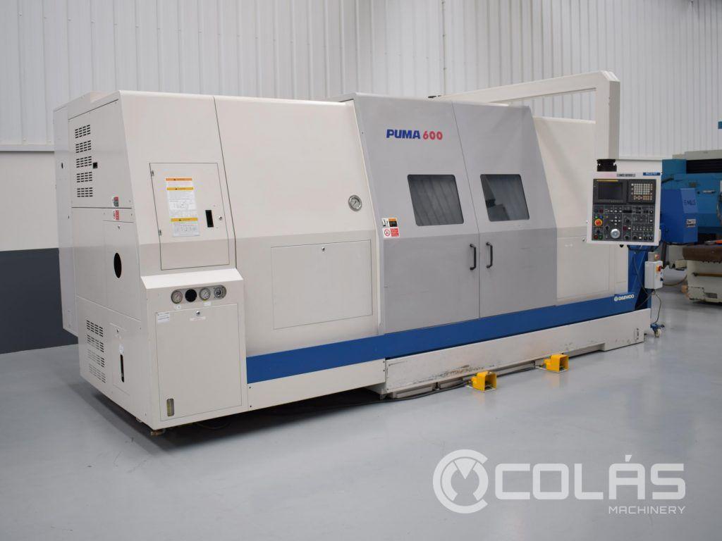 Second hand Doosan Puma 600 CNC Lathe