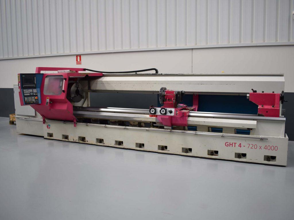 Geminis GHT 4 720 X 4000 CNC Lathe