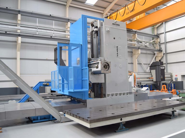 Second Hand ZAYER 30 KC-5000 Floor Type Milling Machine