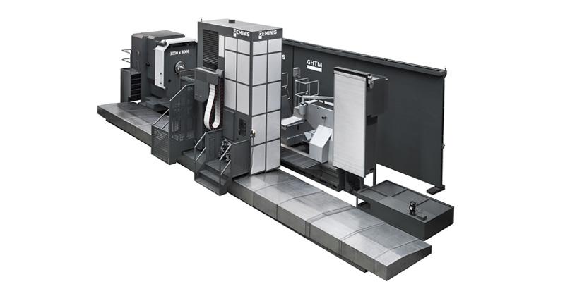 Horizontal CNC Lathe Geminis GM11
