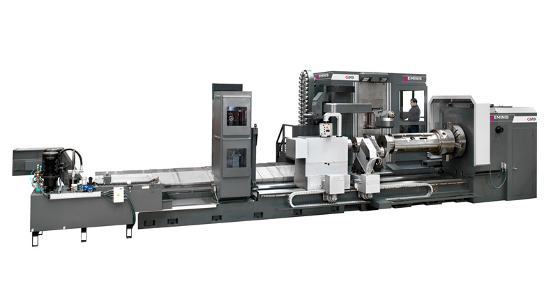 Multiprocess Horizontal CNC Lathe Geminis GM9
