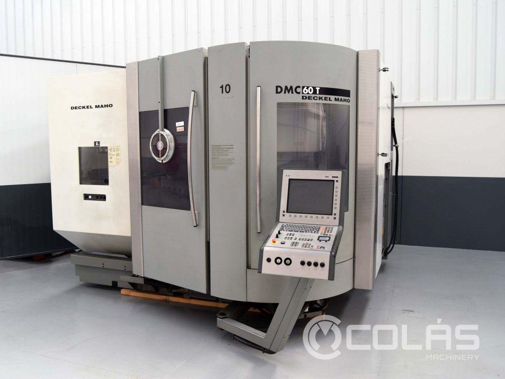 Centro de Mecanizado 5 Ejes DMG DMC 60T de segunda mano