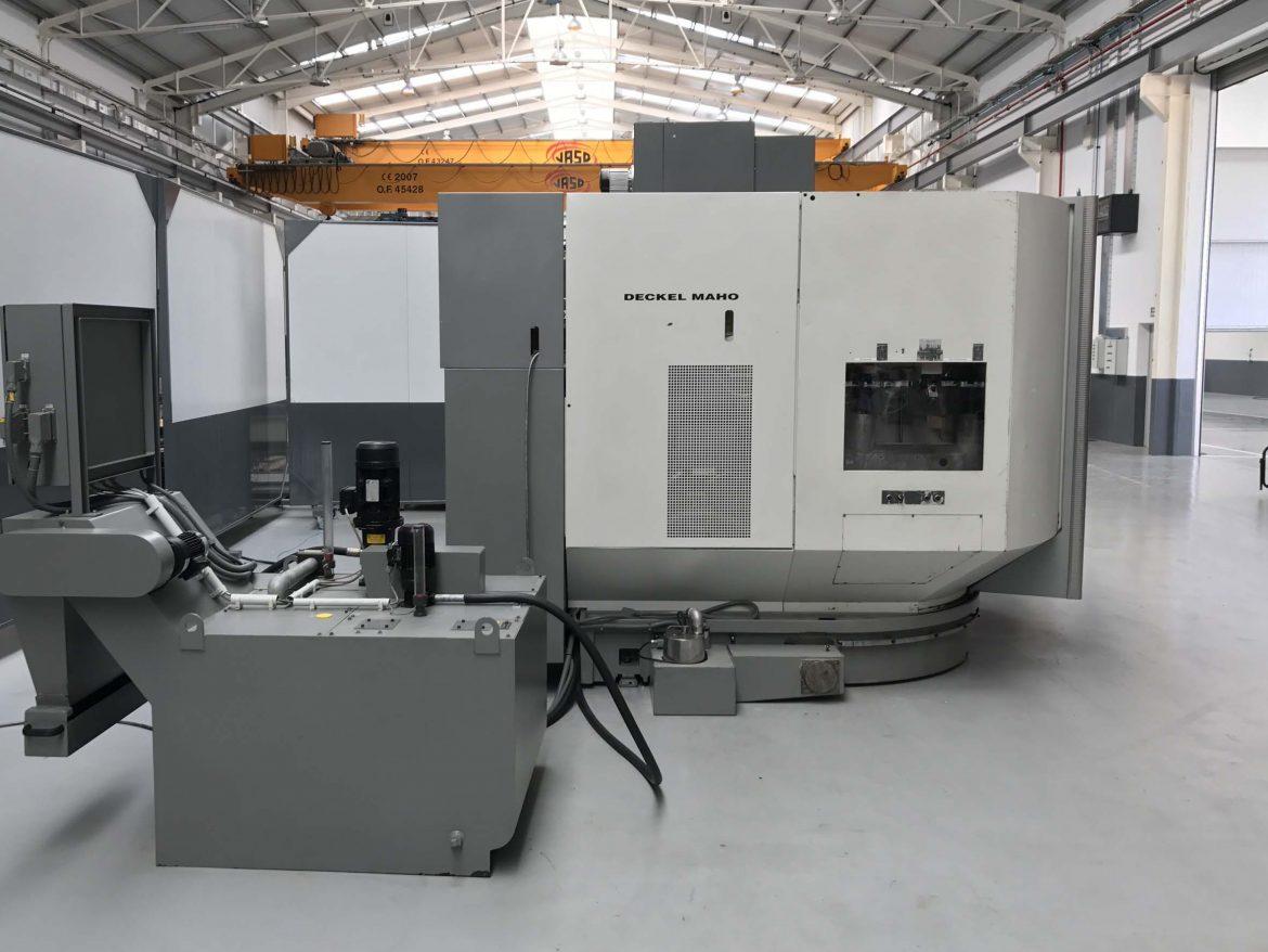 Centro de Mecanizado DMG DMU 100T