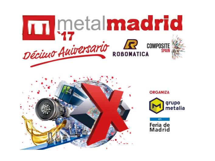 Maquinaria para el metal de segunda mano en Metalmadrid