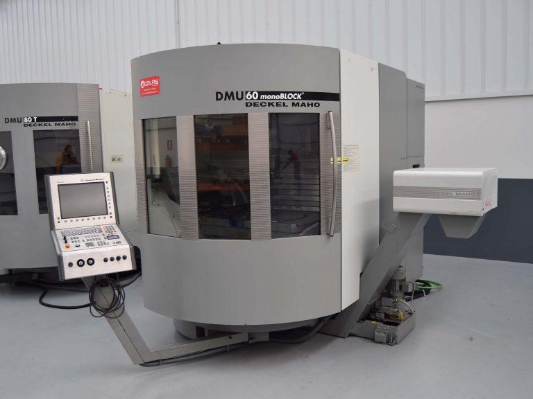 Centro de mecanizado 5 ejes DMU 60 MonoBLOCK