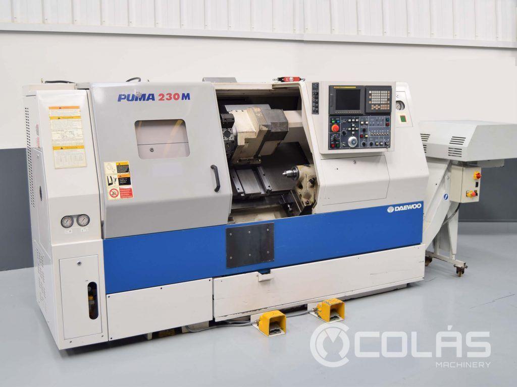 Second Hand Doosan Puma 230M CNC Lathe