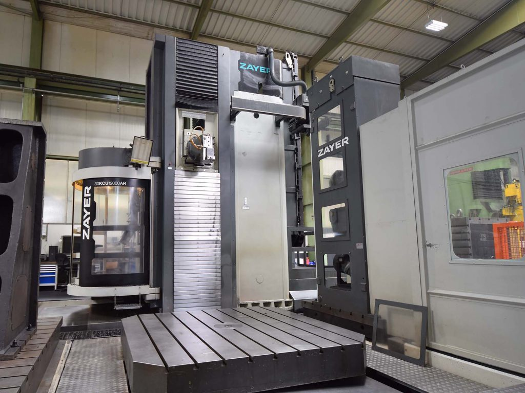 Used Zayer KCU 12000 AR moving column milling machine