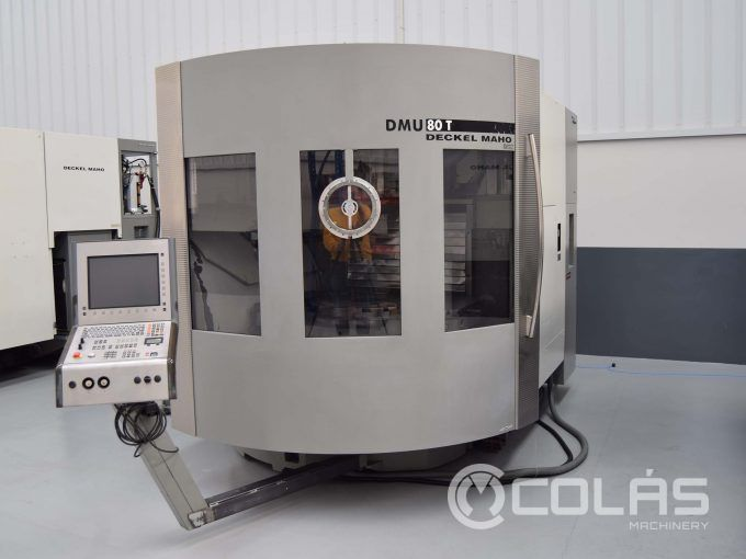 Used DMG DMU 80T 5-axis simultaneous
